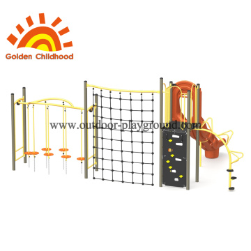 Orange Climbing Structure For Children