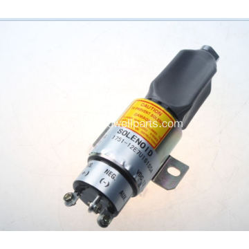 High Quality for Kubota Electrical Accessories Parts WOODWARD 12V Fuel Shutoff Solenoid 1751-12E7U1S1S5A supply to Cook Islands Manufacturer