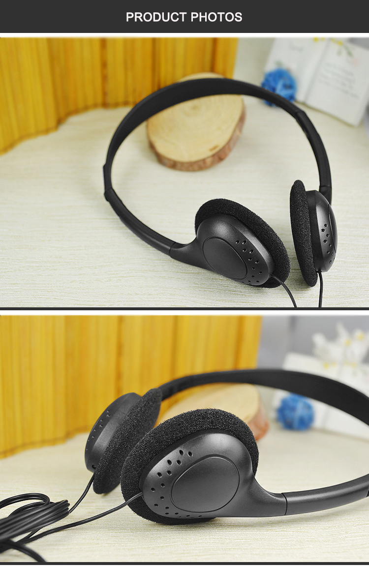 disposable headphone