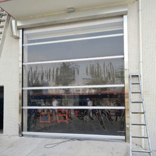 CE Approved Radar Industrial Rolling High Speed Door