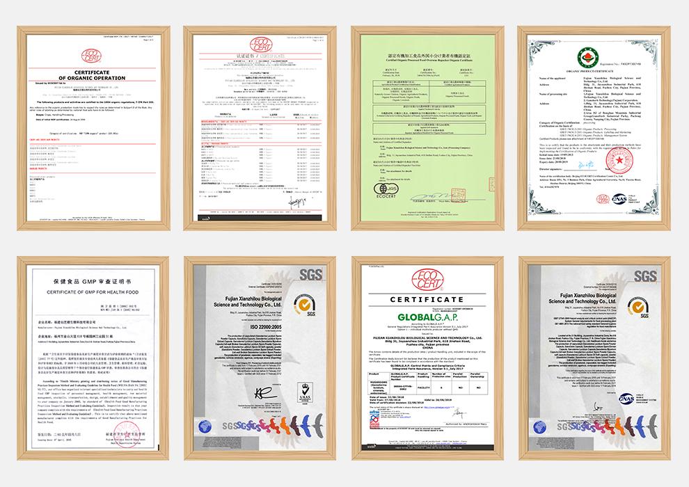 Quality Control - Ganoherb International Inc