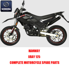 HANWAY XRAY 125 Complete Motorcycle Spare Parts