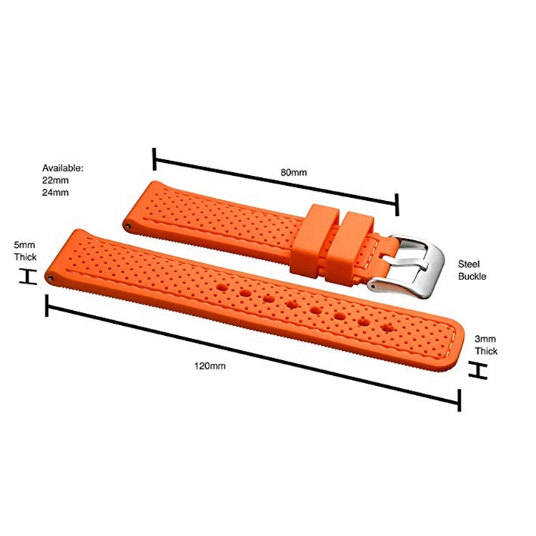 waterproof watch band