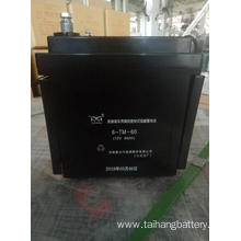 6-TM-60 VRLA lead acid battery for railway