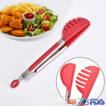 China for Nylon Food Tong Mini Nylon pasta serving kitchen food tong supply to Indonesia Suppliers