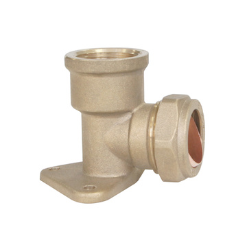 Compression Wall Plate Elbow Fittings