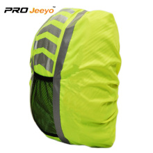 High visibility reflective waterproof backpack cover