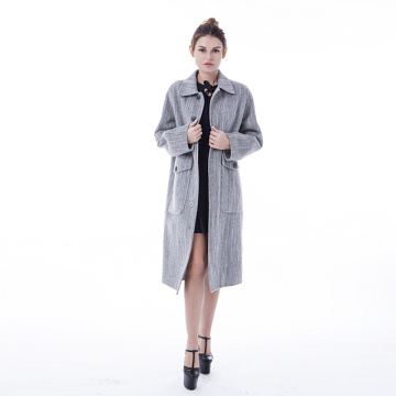 2009 Fashion Cashmere Wool Coat