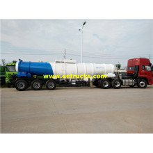 19000 Litres V Shape H2SO4 Trailer Tanks