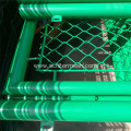 To Install Green Chain Link Mesh Fence