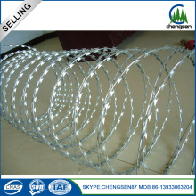 Customized for Concertina Razor Wire First Class 316 Razor Barbed Wire For Farm export to Niue Manufacturer