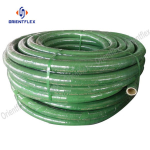 EPDM cover chemical discharge flexible rubber chemical hose