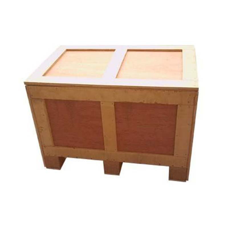 Aviation environmental protection wooden box