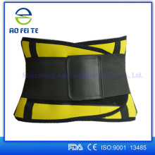 Adjustable medical sport waist trimmer sweat support belt