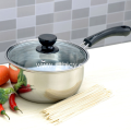 Single Bottom Thickening Stainless Steel Milk Pot
