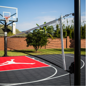 Plastic backyard Multi-sports court mat