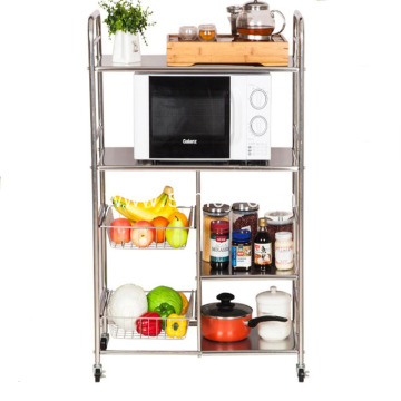 Stainless Steel Household Kitchen Rack