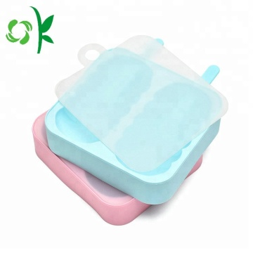 Silicone 2 Ice Tray with Lid