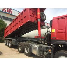 One of Hottest for Dump Trailer 3 axles side dumper trailer export to Colombia Factories