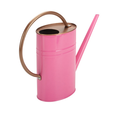 Pretty Pink Watering Can Flower Pot