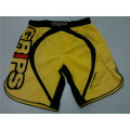 Polyester spendex Men fight custom printed mma shorts