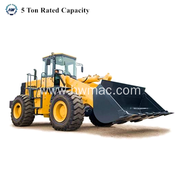 Wheel Loader 5Ton Capacity Front Wheel Loader