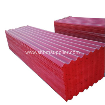 100% Non-Asbestos Fireproofing MgO Roofing Sheets