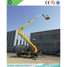 Special for Cherry Picker Rental 14m Self-propelled Articulating Trailer Boom Lift export to Greece Importers