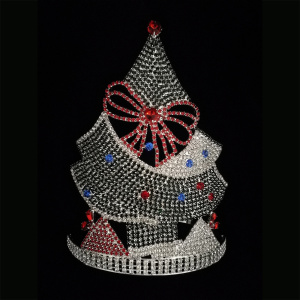 Christmas Pageant Tiara Crown Tree Crowns