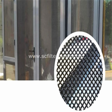 Aluminium Woven Screen Window
