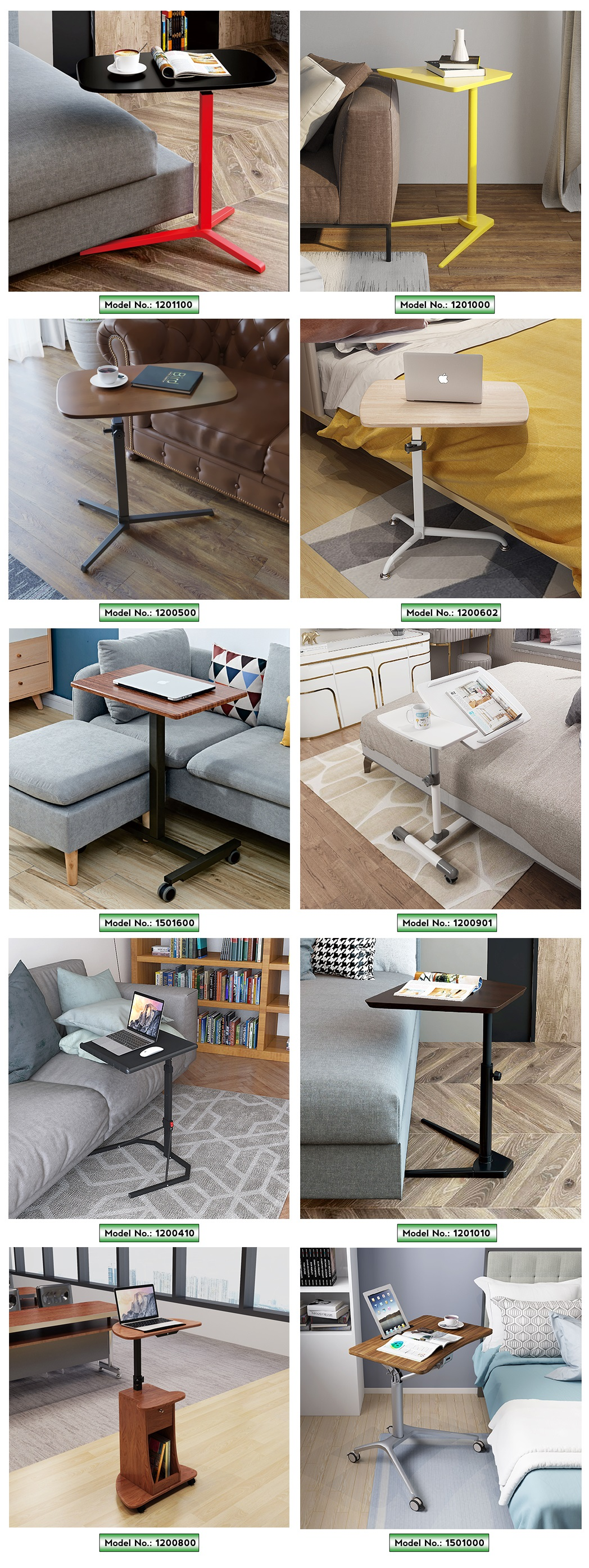 more choice of mobile standing desk overbed table