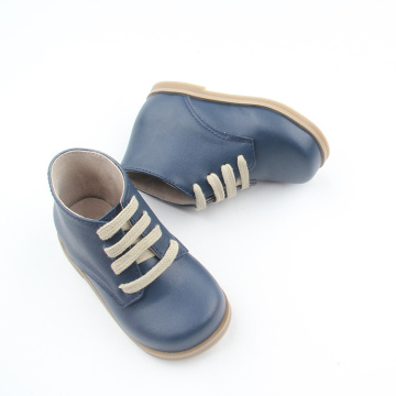 Elastic Genuine Leather Winter Baby Boots