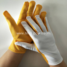 Online Manufacturer for Polyester Shell Glove Stretch Polyester Flash Gloves supply to Pakistan Exporter
