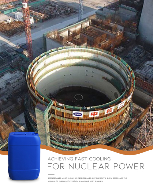 Cooling Medium Refrigerant for Nuclear Power