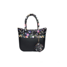 EVA black large bags with zipper innser bags