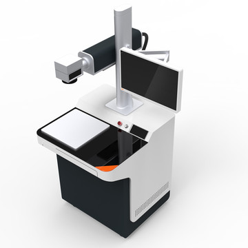 Laser marking machine for jewelry