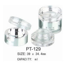 Cosmetic Empty Plastic Round Pot
