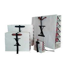 Cheap price for Paper Shopping Bags With Handles New fashion shopping bags export to Tuvalu Wholesale