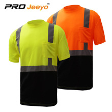 Reflective T-shirt for workmen