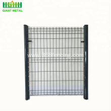 Powder Coated White Wire Mesh Fence Design