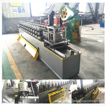 Rolling shutter door lath roll forming machine