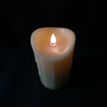 China Top 10 for 3D Led Candles Simulate real wax tear drip 3D led Candle supply to Spain Exporter