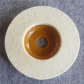 Hot wholesale wool felt polishing wheels for glass