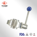 3PCS Sanitary Clamp Ball Valve with Encapsulated Seal
