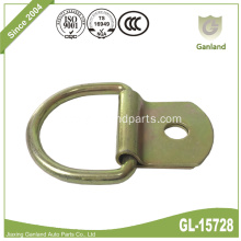 Flush Mount Pan Fitting Lashing Ring With D-ring
