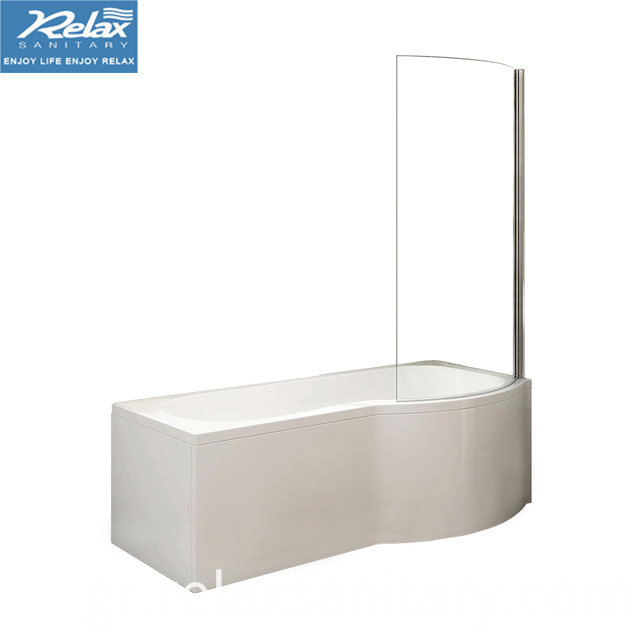 Simple Bathtub with Screen