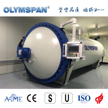 ASME standard carbon fiber part treatment autoclave