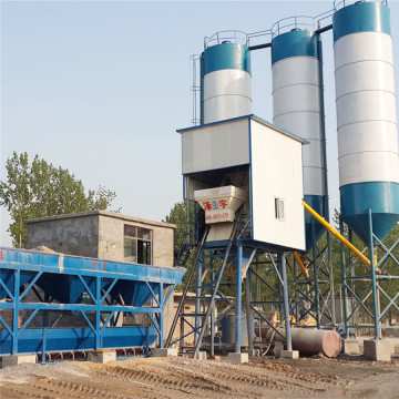 High Performance HZS50 concrete batching plant for sale