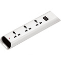 Master switch 3 ways Universal extension socket