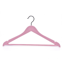 EISHO Eco-friendly Plastic Hanger Pink Color